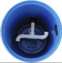 gambar ilustrasi instalasi pipa untuk menimbulkan efek sentrifugal di chamber vortex 128x129 Membuat Kolam Koi Ideal, Hal Hal Yang Perlu Mendapatkan Perhatian